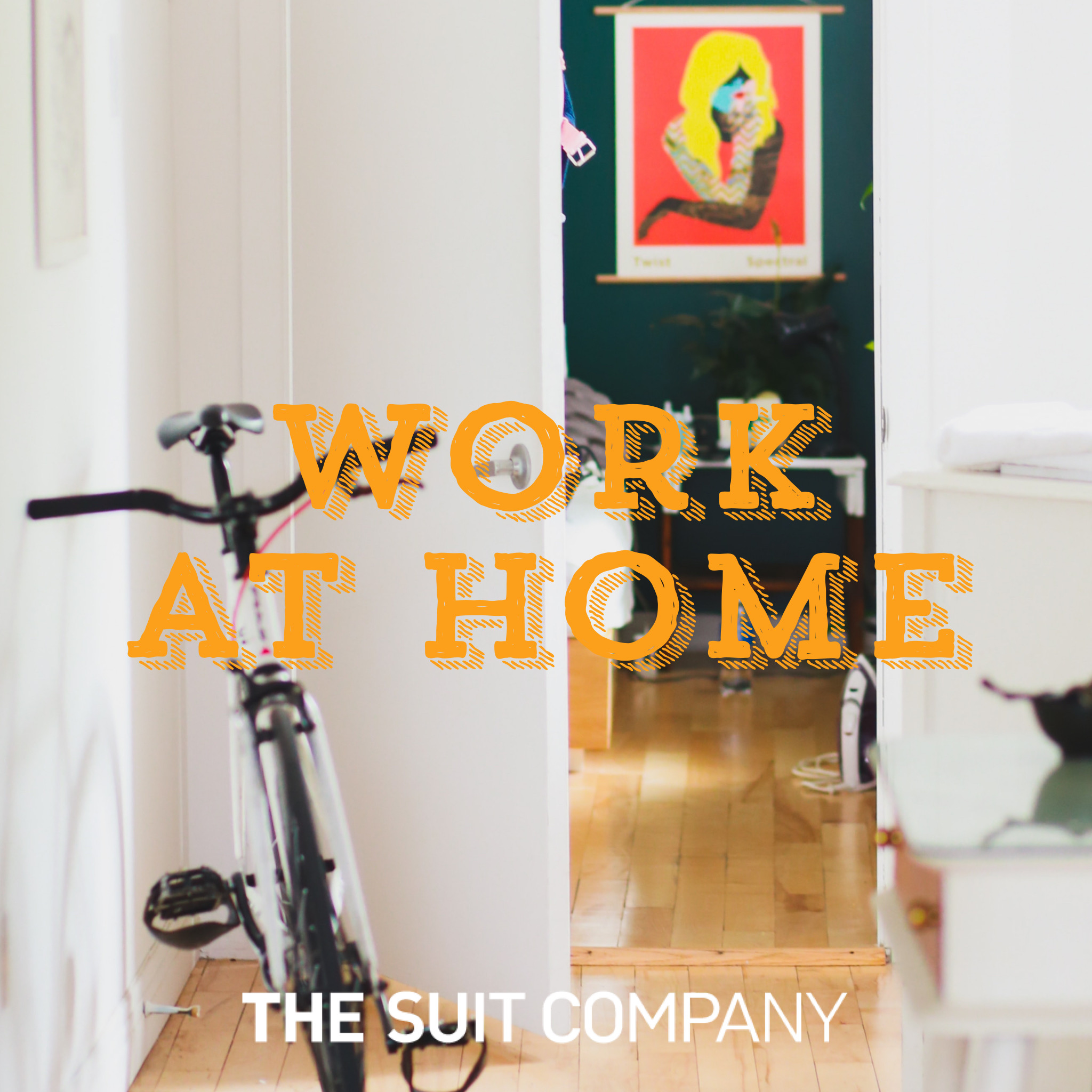 THE SUIT COMPANYの企画「WORK AT HOME」を制作いたしました。